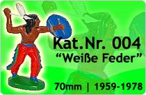 """Kat.Nr.: 004""""Weiße Feder"""""""