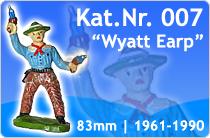 "Kat.Nr.: 007""Wyatt Earp"""