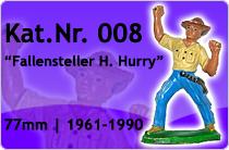 "Kat.Nr.: 008""Fallensteller H. Hurry"""