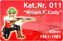 """Kat.Nr.: 011""""Wiliam F. Cody"""""""