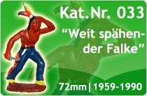 "Kat.Nr.: 033""Weit spähender Falke"""