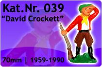"""Kat.Nr.: 039""""David Crockett"""""""