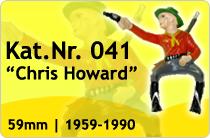 """Kat.Nr.: 041""""Chris Howard"""""""