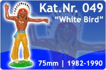 "Kat.Nr.: 049""White Bird"""