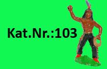 """Kat.Nr.: 103""""Opechancanough"""""""