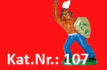 "Kat.Nr.: 107""Rächender Blitz"""