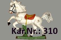 """Kat.Nr.: 310""""Reitpferd"""""""