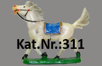 "Kat.Nr.: 311""Reitpferd, trabend"""