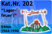 """Kat.Nr.: 202""""Lagerfeuer I"""""""